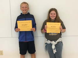 6th Grade September Students of the Month