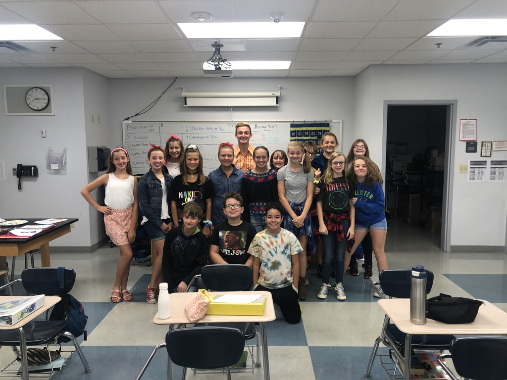 Attendance Competition - Mr. Rubarts 7th Grade Science 1st Hour