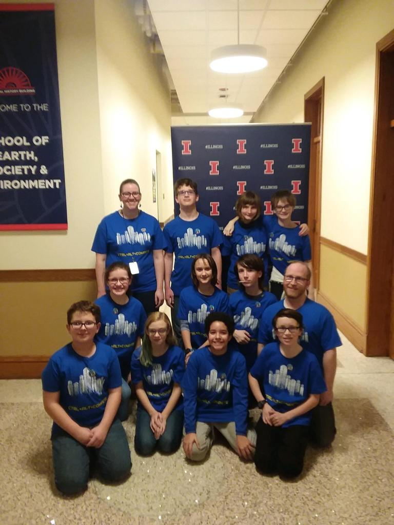 PBL LEGO League Team Picture 2019